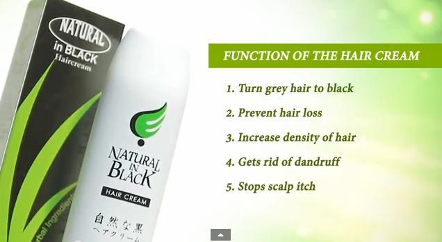 End to white hair, dropping hair, dandaruff